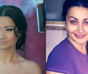 FOTO / Natural vs. make-up. Aşa arată vedetele noastre nemachiate! Ce notă le dai?