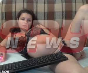 Iertată de judecători, după ce şi-a violat bebeluşul în timpul unui show pervers!