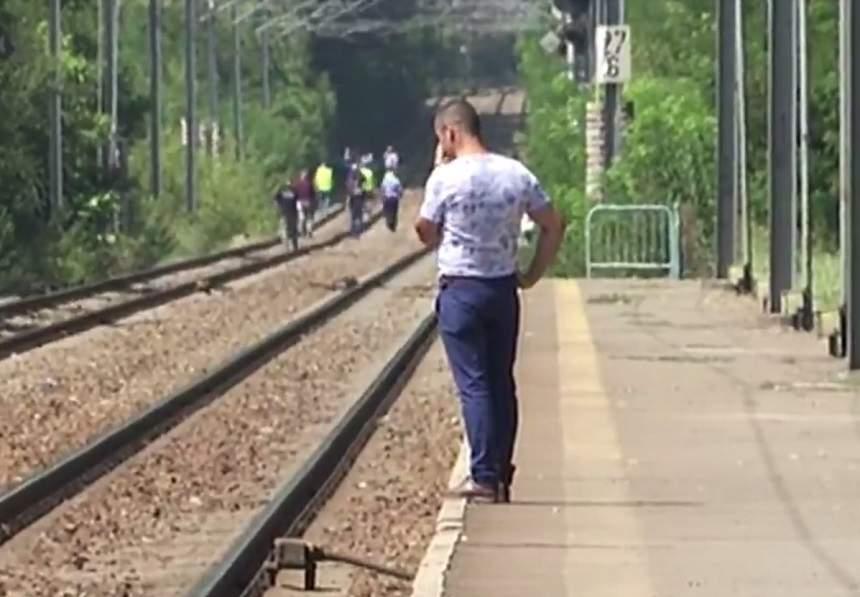Reacţia soţului femeii care s-a aruncat în faţa trenului împreună cu cei trei copii! Ce a ieşit la iveală