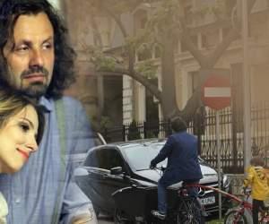 A ieșit la distracție, dar a uitat de lege! Soțul Danei Rogoz i-a pus viața în pericol fiului lor, când credea că nu îl vede nimeni. VIDEO PAPARAZZI