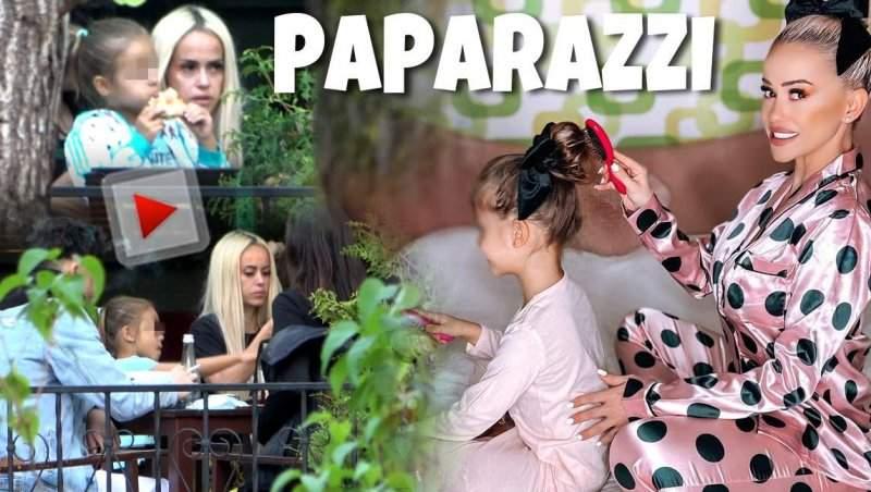Cine o ajută pe Anda Adam sa aibă grijă de Eveline! Imaginile surprinse de paparazzii Spynews spun totul / PAPARAZZI