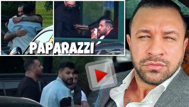 Primele imagini cu Alex Bodi după ce a fost eliberat din arestul la domiciliu! Cu cine a ales omul de afaceri să sărbătorească / PAPARAZZI