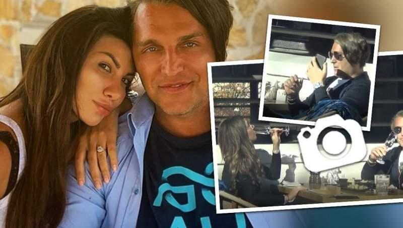 """Bogdan Ionescu """"se dă peste cap"""" să își răsfețe soția, dar ea nu se lasă ușor! Sheila, neimpresionată de întâlnirea cu partenerul ei / PAPARAZZI"""