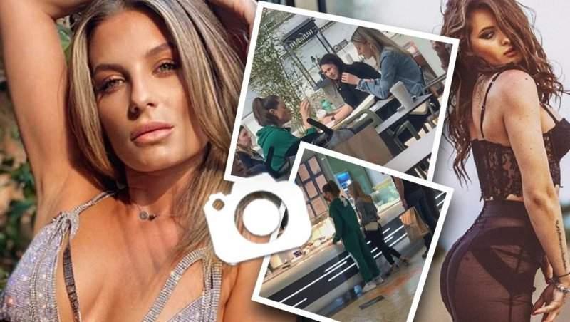 Raluka și Ana Baniciu au dat restaurantele de fițe pe terasa de la mall! Artistele au renunțat la ținutele sexy în favoarea hainelor sport / PAPARAZZI