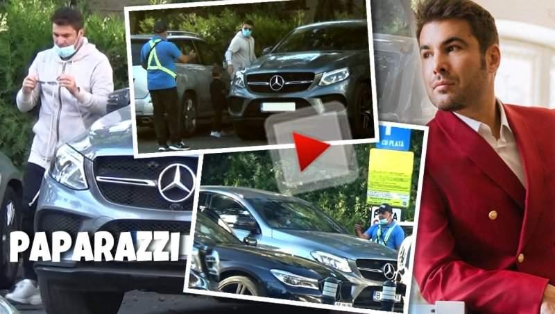 """Adrian Mutu, prins în """"offside""""! """"Briliantul"""" deține o avere, dar când vine vorba de plătit parcarea, dă bir cu fugiții / PAPARAZZI"""