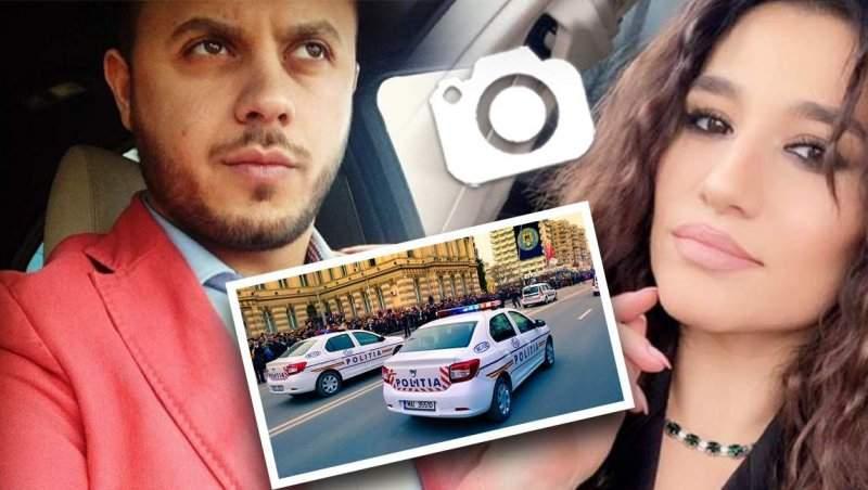 Gabi Bădălău, scandal cu poliția, acasă la Claudia Pătrășcanu / Totul a fost filmat