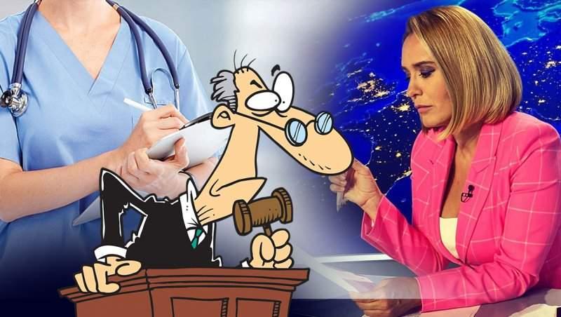 Andreea Esca a făcut-o K.O. pe doctorița care a târât-o într-un scandal de proporții / Decizie de ultimă oră
