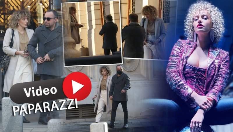 Alexia Țalavutis dă indicații, soțul execută! Cum au fost surprinși la ieșirea dintr-un restaurant! / PAPARAZZI