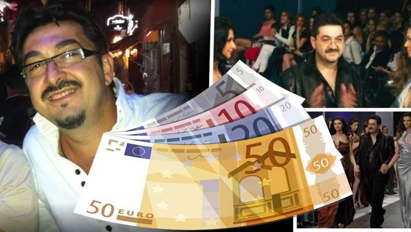 Creator de modă celebru, scandal total, pentru 378.000 de euro / Își joacă ultima carte!