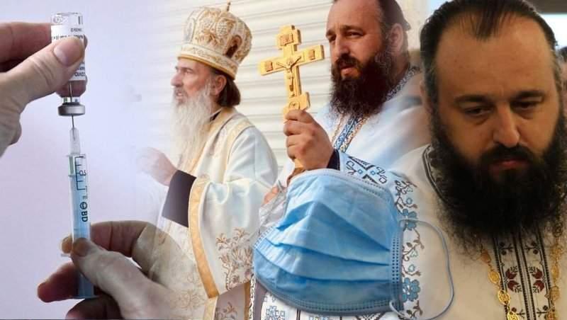 Mâna dreaptă a episcopului Tomisului, mesaj uluitor despre vaccin și măști / E foame de... credință!