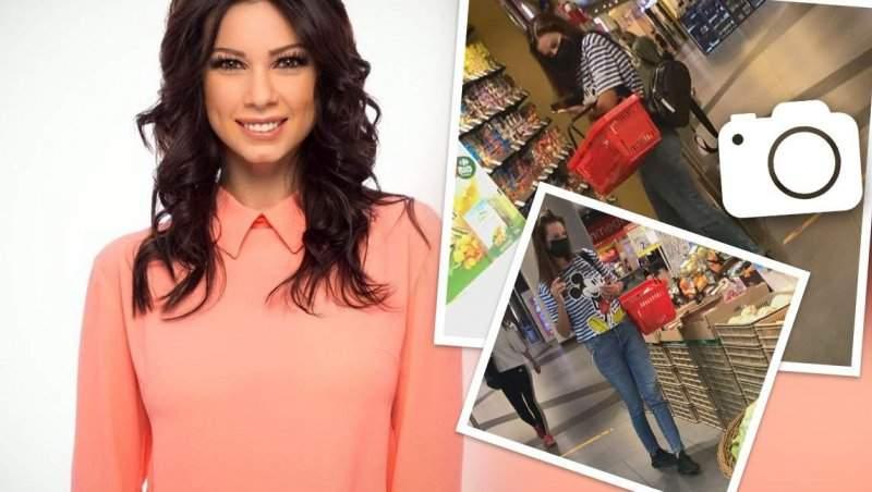 Nu e o întâmplare că Iuliana Luciu are o siluetă de invidiat! Cum arată coșul de cumpărături al vedetei / PAPARAZZI