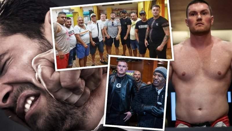 Cel mai dur lider al grupării Sportivilor, desfigurat de bodyguardul lui Mike Tyson / I-au legat maxilarul cu sârmă!