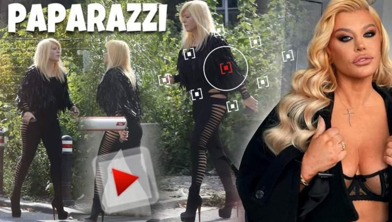 Loredana Groza, interzis de sexy! Nu doar pe internet îi baga pe toți în boală. Imagini de infarct cu super artista, ziua în amiaza mare / PAPARAZZI