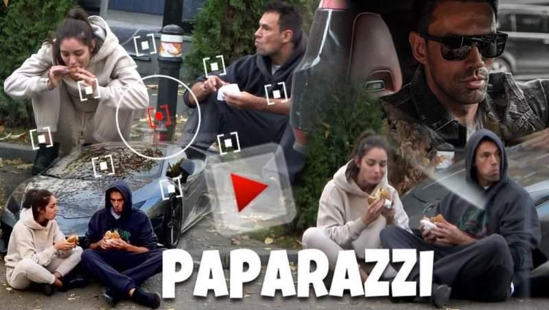 ZED are o căruță de bani, dar și-a scos iubita la masă pe… trotuar / PAPARAZZI