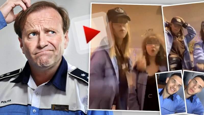 VIDEO / Show-uri sexy, în uniforma de poliție / Imagini incredibile