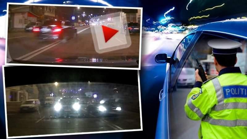 """VIDEO / """"Bombardieri"""" căutați de poliție, după ce au fost filmați într-o ipostază scandaloasă / Imagini exclusive"""