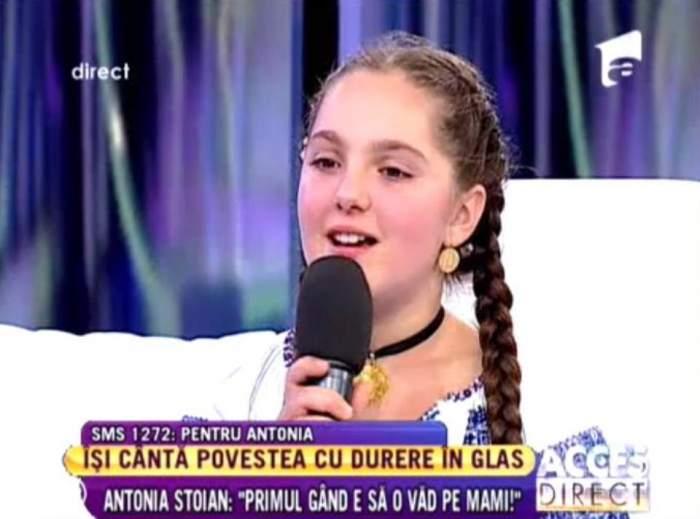 """Surpriză de proporţii la Acces Direct! Câştigătoarea """"Next Star"""", Antonia Stoian şi-a revăzut mama!"""