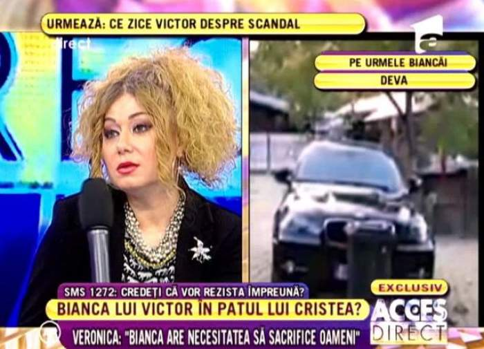 "Veronica: ""Bianca are necesitatea să sacrifice oameni"" / VIDEO"
