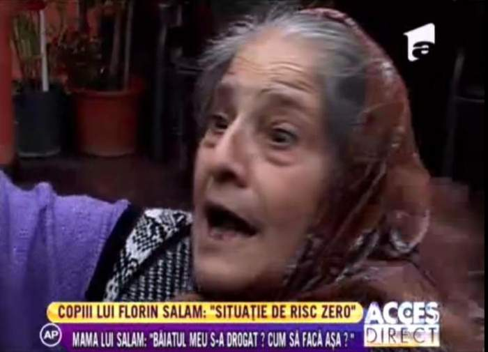 """Mama lui Florin Salam: """"A fost forţat să recunoască!"""""""