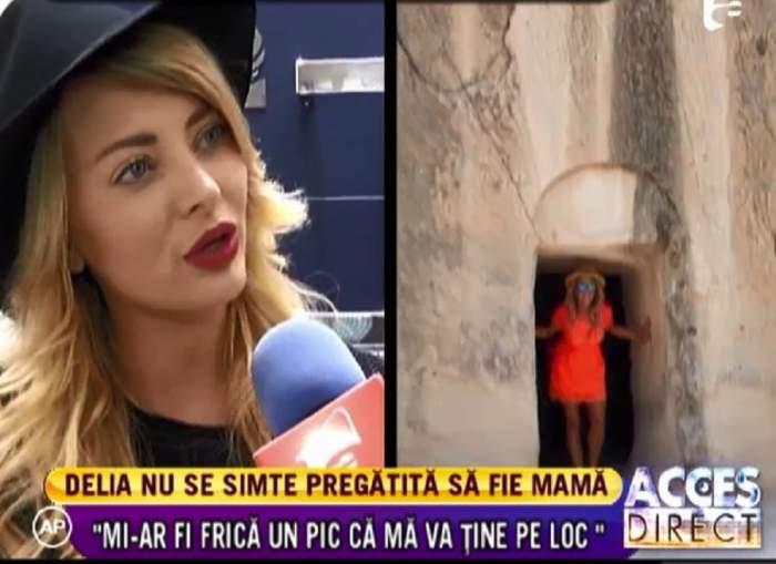 Delia Matache nu vrea să aibă un copil! / VIDEO