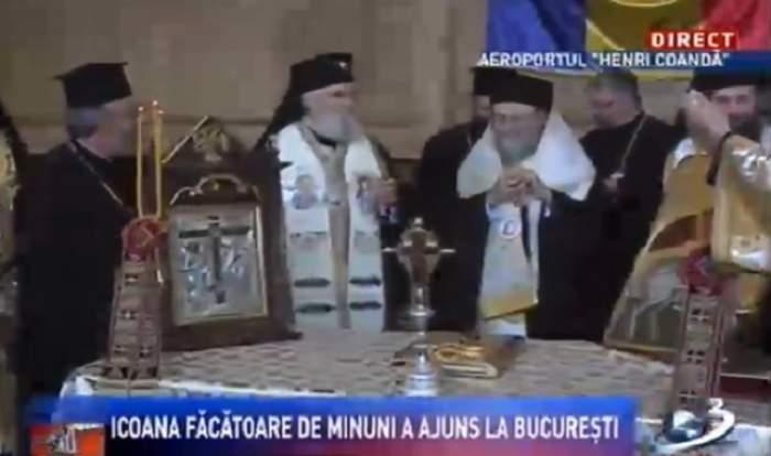 Icoanele făcătoare de minuni ale Sf. Împărătese Elena şi a Sf. Constantin cel Mare au fost aduse în Bucureşti!