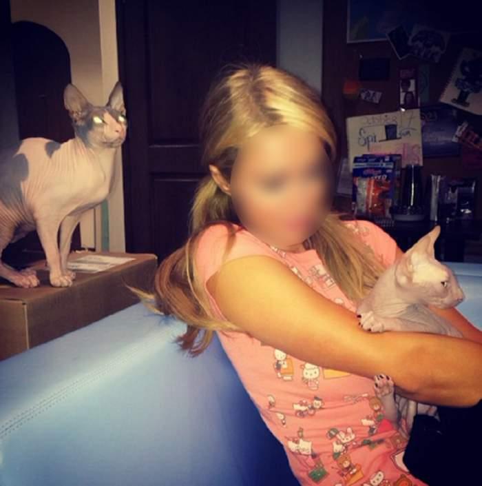 Ghici cine este vedeta care iubeşte pisicile Sfinx!