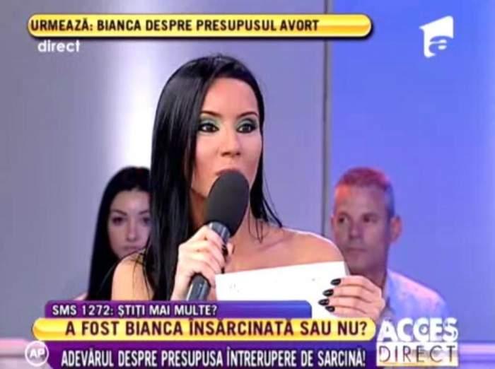 """Oana Craioveanu, despre posibilul avort al Biancăi: """"Teancuri de fişe putem face cu toţii!"""""""