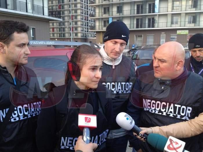 """VIDEO Ei sunt eroii zilei! Alexandra şi Bogdan i-au salvat viaţa """"sinucigaşei""""! Vezi cum au făcut!"""
