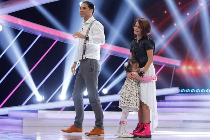 """VIDEO Concurentă """"Next Star"""" a ajutat o fetiţă să-şi recapete vederea! Cele două s-au întâlnit pentru prima dată! Lora a plâns de emoţie"""