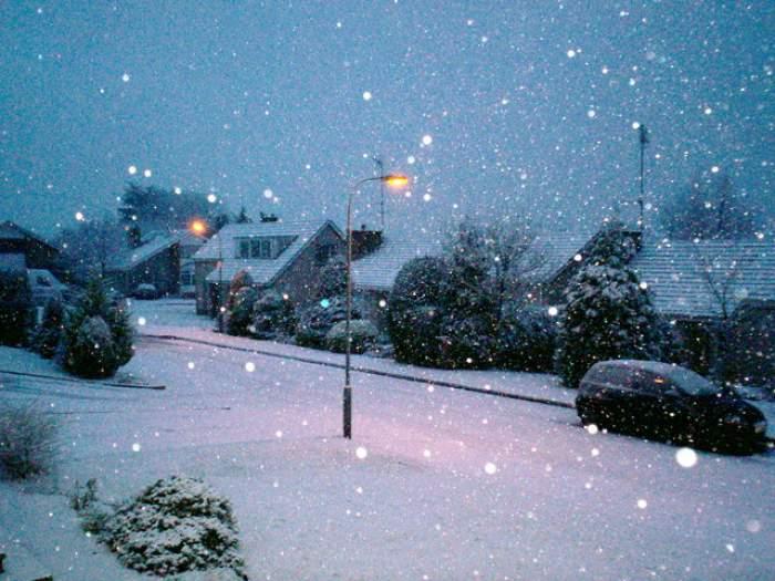 Săptămâna viitoare va ninge! Uite în ce oraş vor cădea primii fulgi de zăpadă