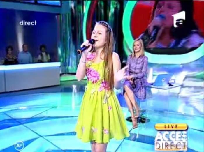 VIDEO Oana, fata care a topit România cu glasul ei! Uite cum cântă în ruseşte