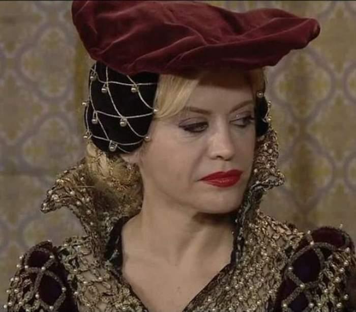 """Loredana Groza, la braţul lui """"Suleyman Magnificul""""! Cum arata blonda in pielea lui Hurrem"""