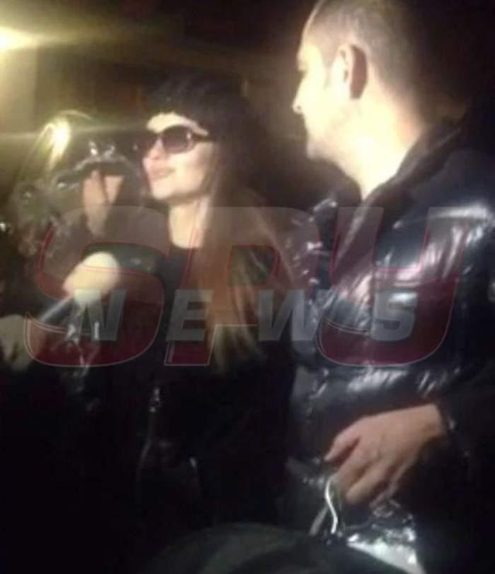 VIDEO Cristina Şişcanu s-a crezut la Hollywood. A venit la nunta lui Ilie Năstase cu ochelari de soare