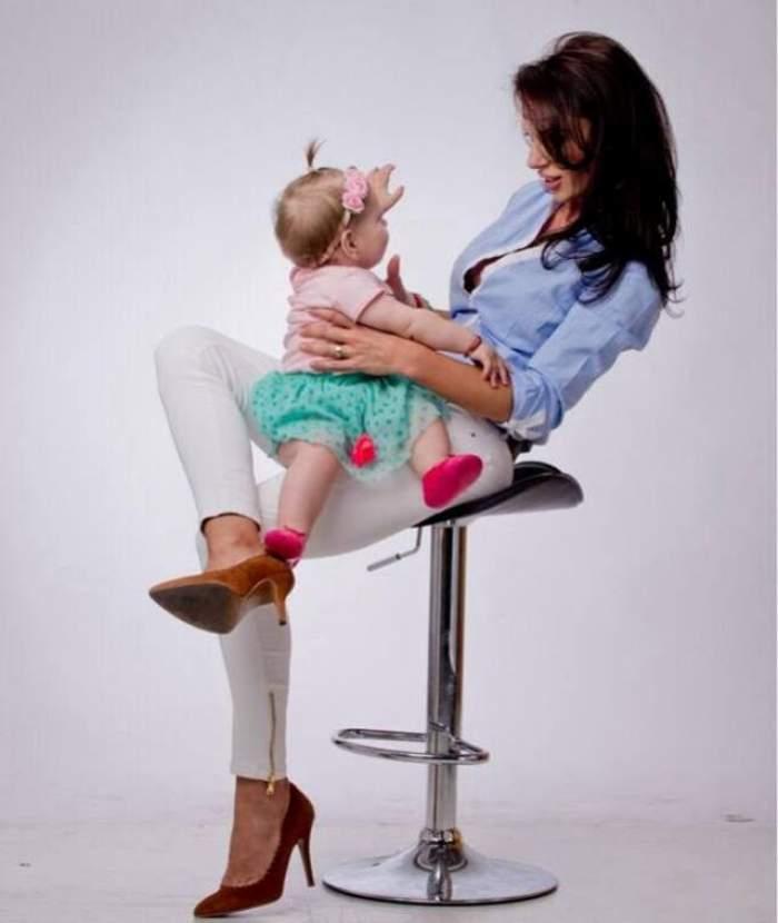 Ramona Lăzuran, momente de goază! Fiica sa a stat o săptămână în spital! Vezi cum se simte micuţa!