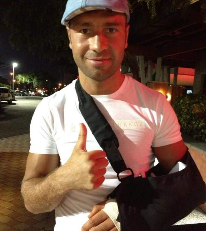Momente grele pentru Lucian Bute! Pugilistul a fost operat de urgență