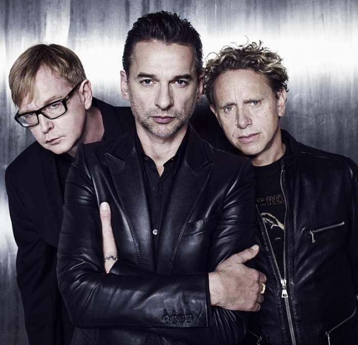 Baietii de la Depeche Mode au tras de fiare inaintea concertului de la Bucuresti