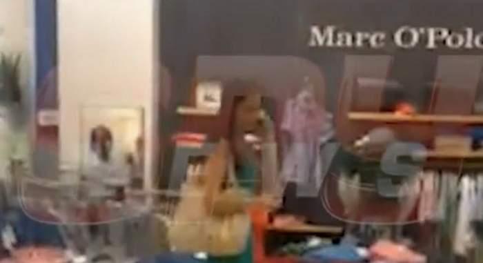 Gabi Cristea stă cu orele la shopping