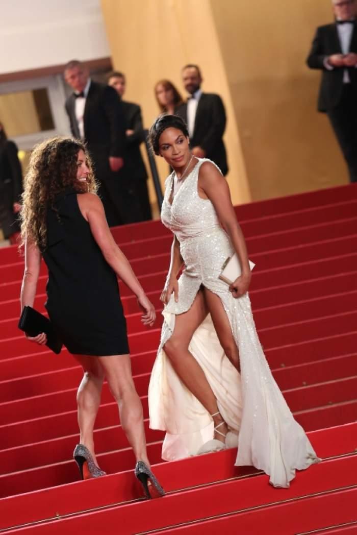 O vedetă de la Hollywood şi-a arătat zonele intime, pe covorul roşu de la Cannes/ FOTO