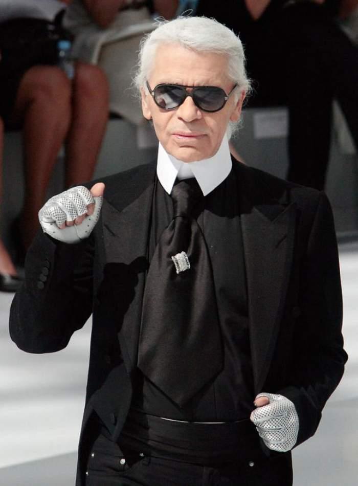 El e romanul care i-a cantat la ureche lui Karl Lagarfeld, designerul casei de modă Chanel!
