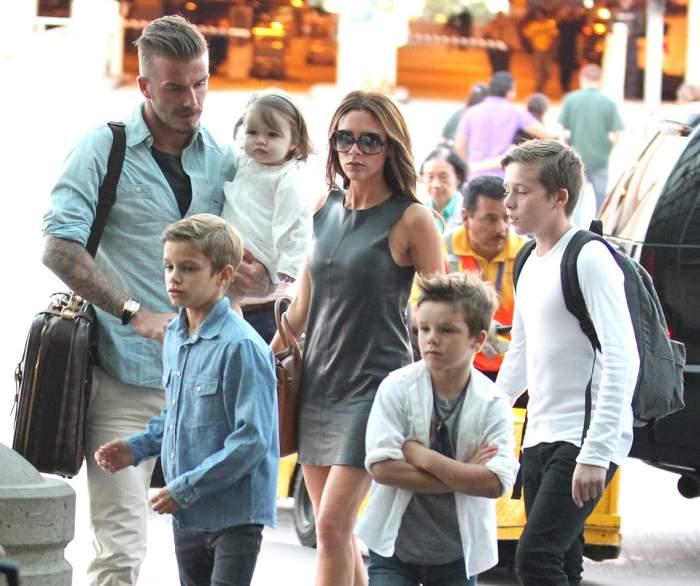Surpriză. Familia Beckham are un nou membru / Foto
