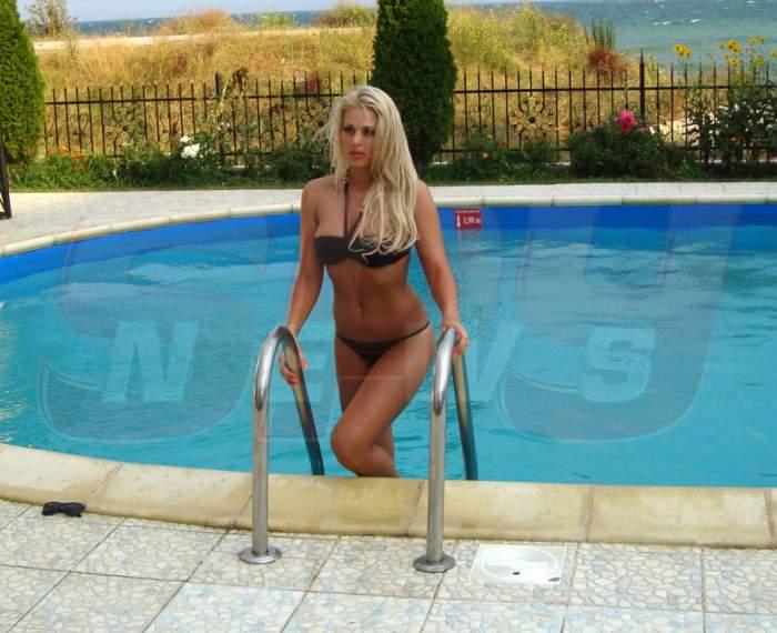Atenţie, blonda sexy la orizont! Roxana Nemeş, pe vremea când nu era dolofană! / Galerie foto