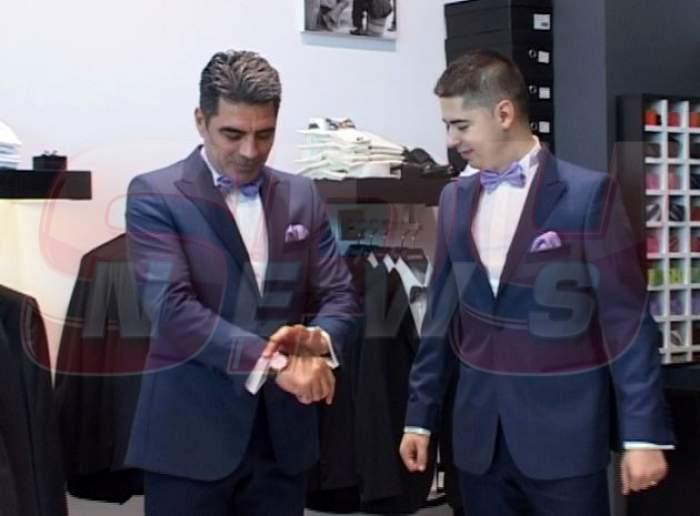 Marcel Toader şi Cătălin Andrieş, traşi la indigo. Uite ce costume vor purta la petrecerea de botez!