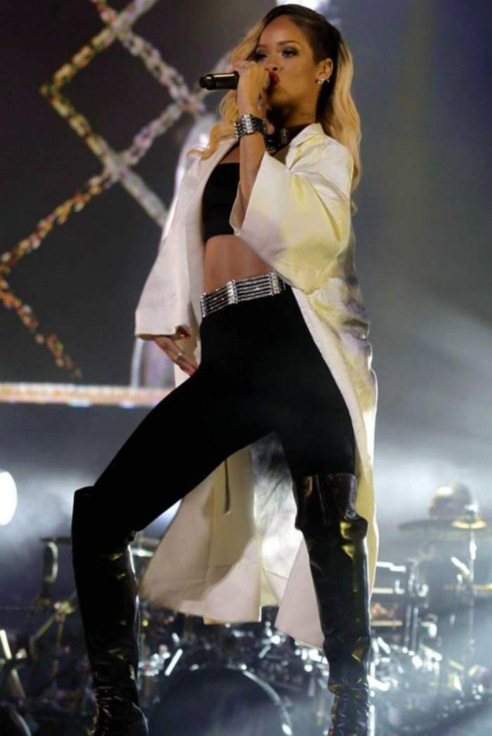 Rihanna, concert de senzaţie la Rabat! Intră să o vezi în acţiune