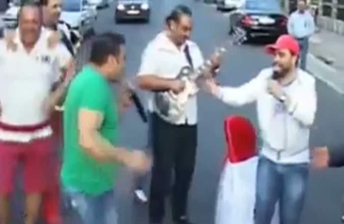 Tupeu de manelist! Florin Salam a dat traficul peste cap şi a făcut dedicaţii în plină stradă. Cum ţi se pare gestul lui! / Video