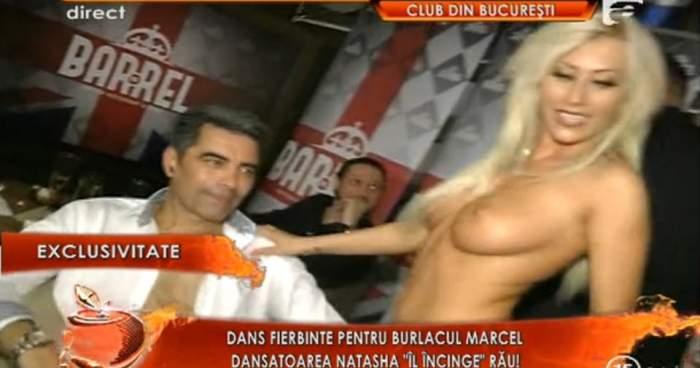 """Show erotic la petrecerea de divorţ a lui Marcel Toader. """" Are o piele minunata""""."""