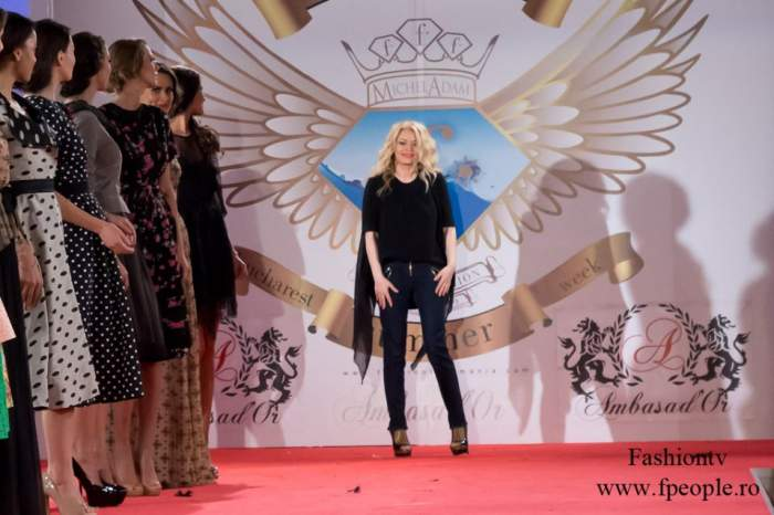 Galina a făcut senzaţie la Fashion Week!