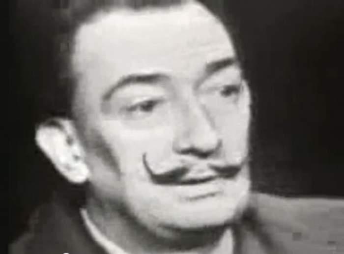 """Pictorul spaniol Salvador Dali s-a """"reîncarnat"""" într-un pisoi! Vezi dovada! / Foto"""