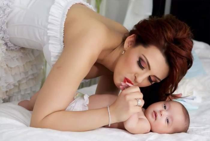 Aşa mamă, aşa fiică! Uite ce frumoasă e fetiţa Dianei Bişinicu! / Foto