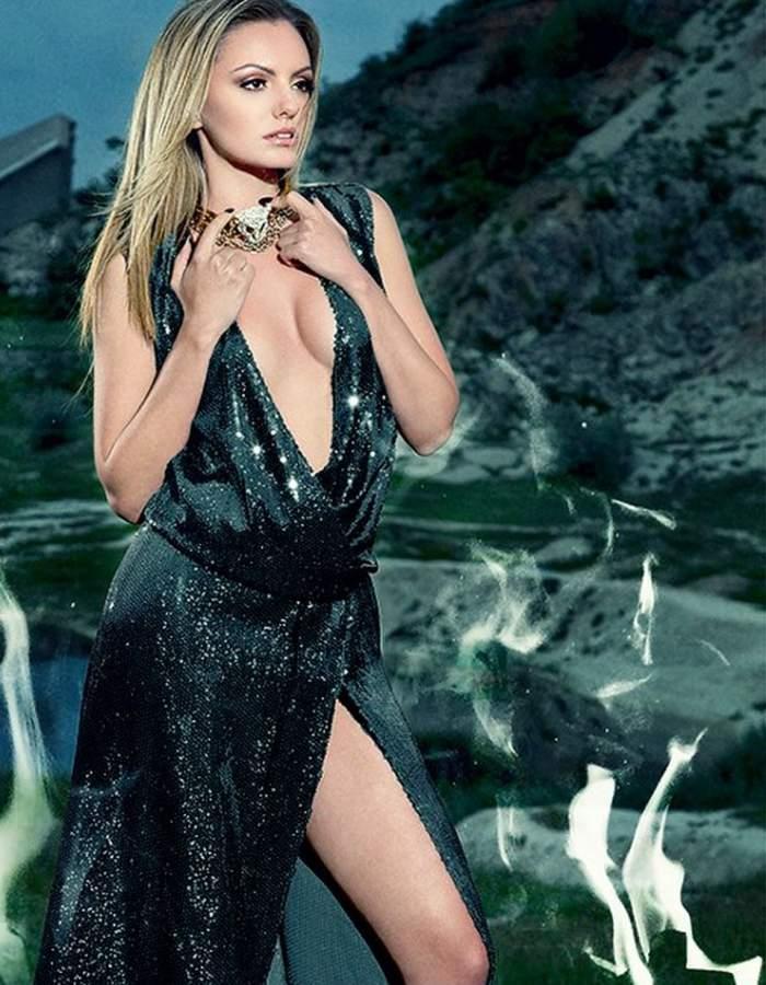 Cum a fost şi cum a ajuns! Alexandra Stan, de la bomba sexy la femeia neajutorată cu ochii umflaţi şi învineţiţi / Galerie foto