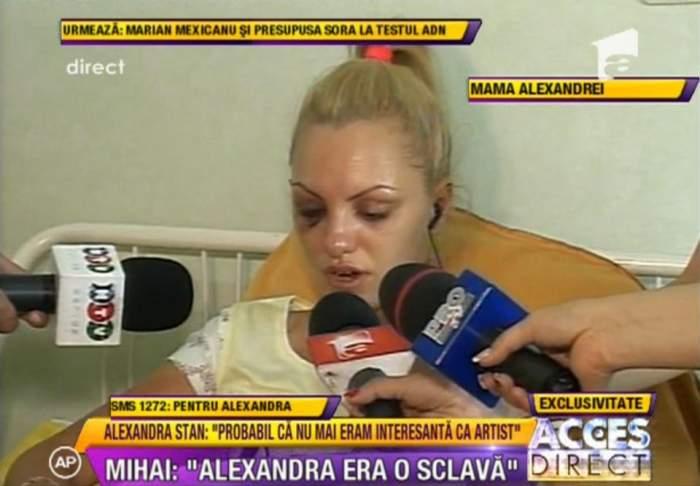 """Alexandra Stan: """"Marcel mă umilea şi îmi spunea că sunt sclava lui"""""""
